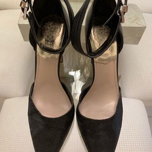 Vince Camuto Pointed Toe Anklet Heel